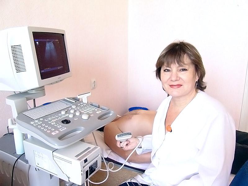 Врач УЗИ Ниденталь Любовь Владимировна - ЖД больница (Тула)
