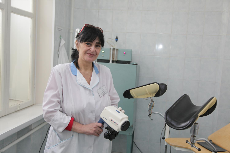 Пришла на прием к гинекологу 12 фотография