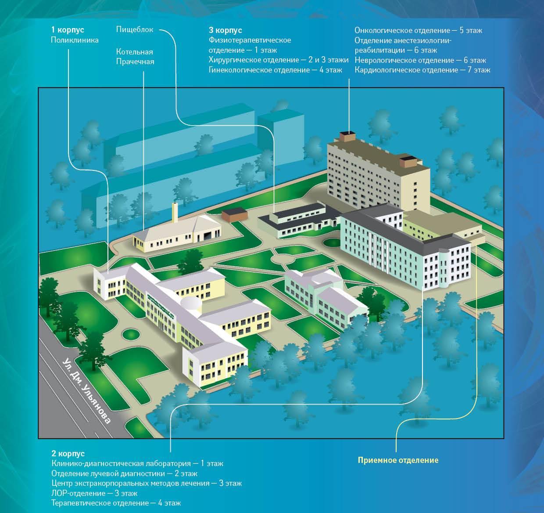Схема 20 больницы ростов
