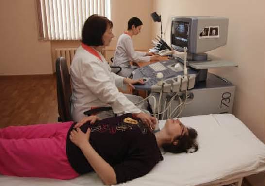 Кабинет УЗИ в Туле - прием пациентки